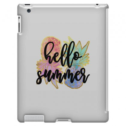 Hello Summer Ipad 3 And 4 Case Designed By Nurbetulk