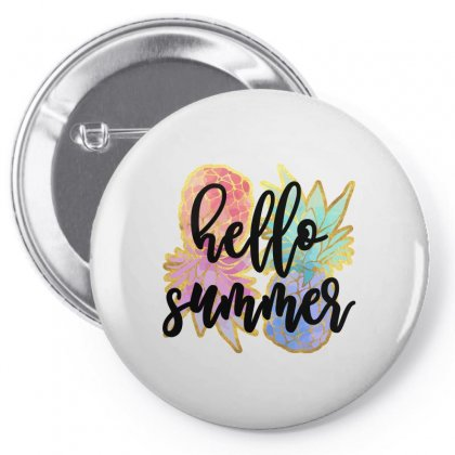 Hello Summer Pin-back Button Designed By Nurbetulk