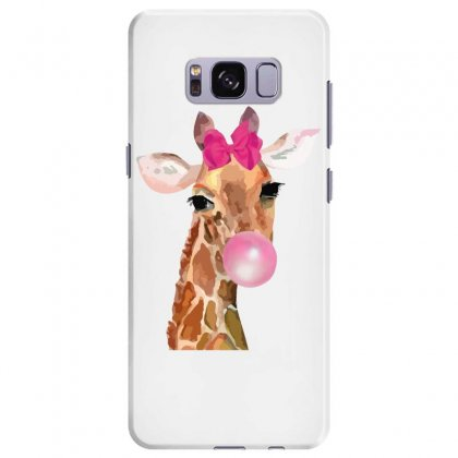 Giraffe Bubblegum Samsung Galaxy S8 Plus Case Designed By Nurbetulk