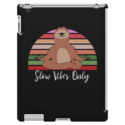 Slow Vibes Only For Dark Ipad 3 And 4 Case Designed By Sengul