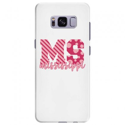 Mississippi Pink Alphabet Samsung Galaxy S8 Plus Case Designed By Sengul