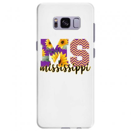 Mississippi Alphabet Samsung Galaxy S8 Plus Case Designed By Sengul