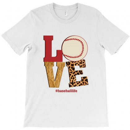 Love Baseballlife T-shirt Designed By Sengul