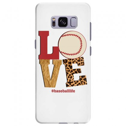 Love Baseballlife Samsung Galaxy S8 Plus Case Designed By Sengul