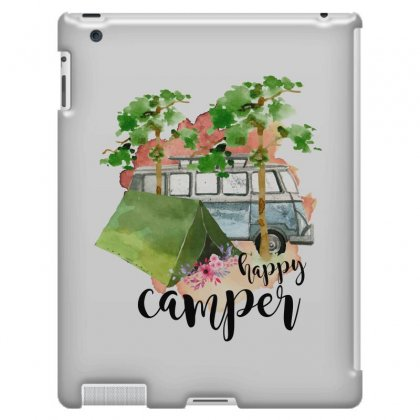 Happy Camper Ipad 3 And 4 Case Designed By Sengul