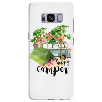 Happy Camper Samsung Galaxy S8 Plus Case Designed By Sengul