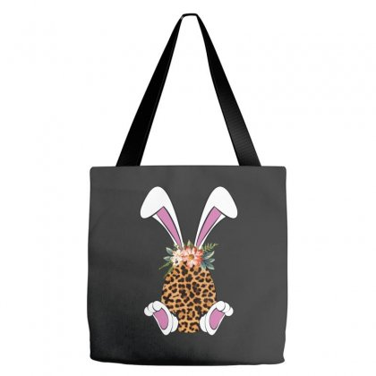 Easter Bunny Leopard Tote Bags Designed By Sengul