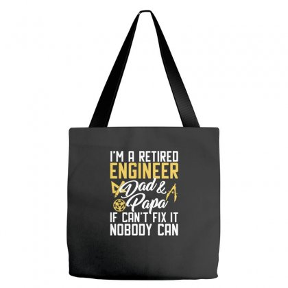 Funny Retirenment Engineer Design Tote Bags Designed By Cogentprint