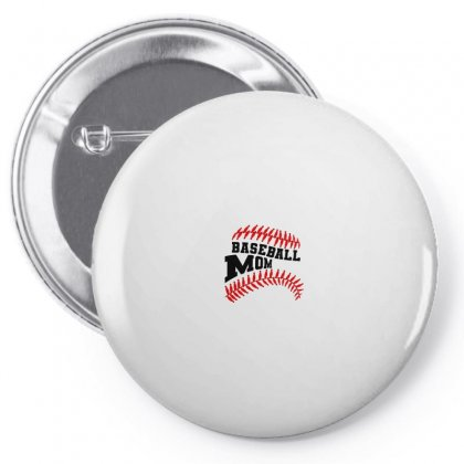 Baseball Mom For Light Pin-back Button Designed By Nurbetulk