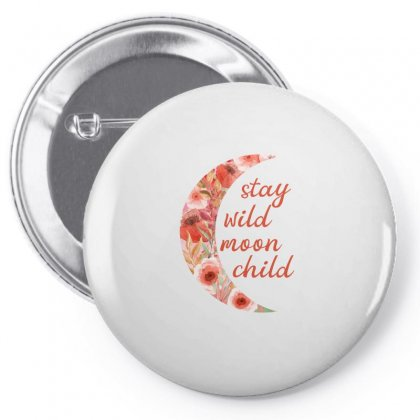 Stay Wild Moon Child Pin-back Button Designed By Sengul