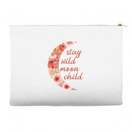 Stay Wild Moon Child Accessory Pouches Designed By Sengul