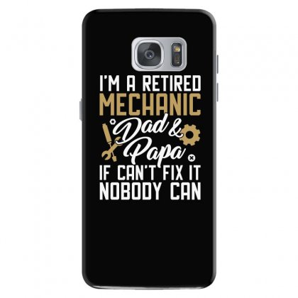 Funny Auto Mechanic Design Samsung Galaxy S7 Case Designed By Cogentprint
