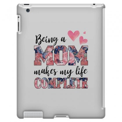 Being A Mom Makes My Life Complete For Light Ipad 3 And 4 Case Designed By Sengul