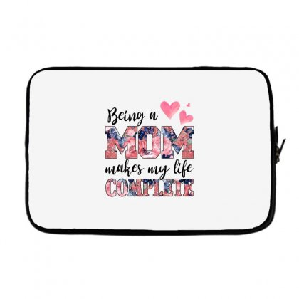 Being A Mom Makes My Life Complete For Light Laptop Sleeve Designed By Sengul