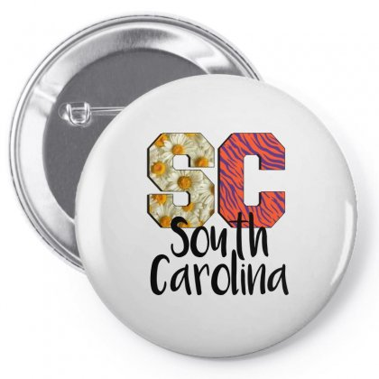 South Carolina Pin-back Button Designed By Sengul