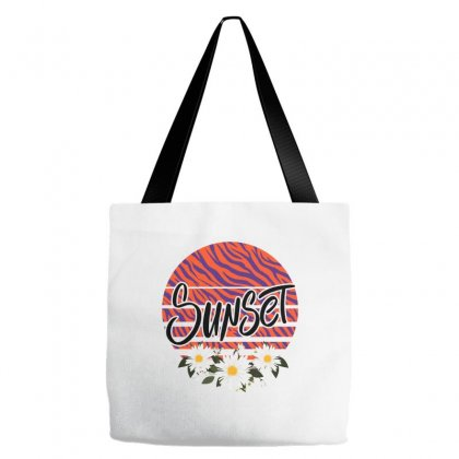 Sunset Tote Bags Designed By Sengul
