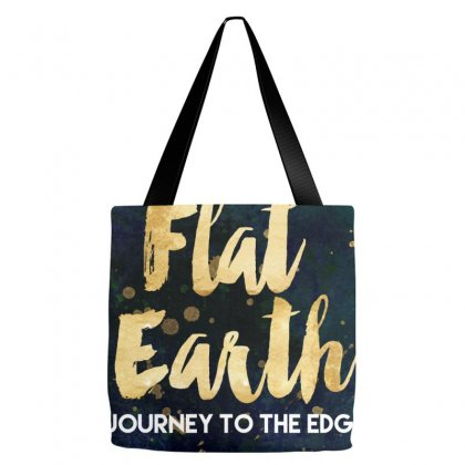 Flat Earth A Journey To The Edge Tote Bags Designed By Perception