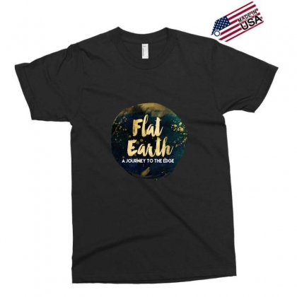 Flat Earth A Journey To The Edge Exclusive T-shirt Designed By Perception