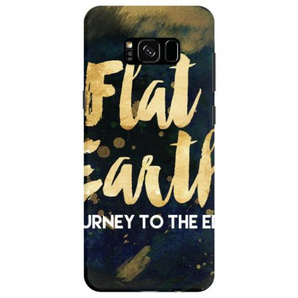 Flat Earth A Journey To The Edge Samsung Galaxy S8 Case Designed By Perception