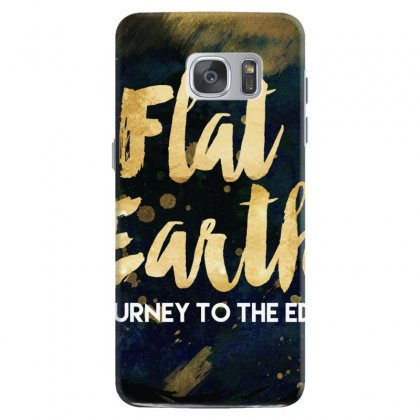 Flat Earth A Journey To The Edge Samsung Galaxy S7 Case Designed By Perception