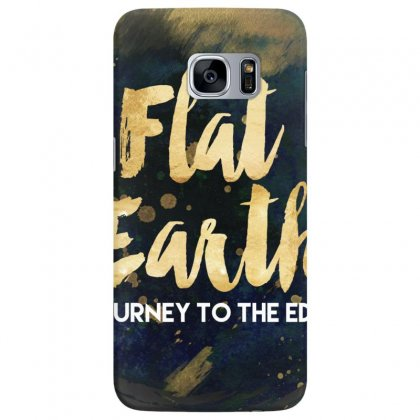 Flat Earth A Journey To The Edge Samsung Galaxy S7 Edge Case Designed By Perception