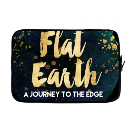 Flat Earth A Journey To The Edge Laptop Sleeve Designed By Perception