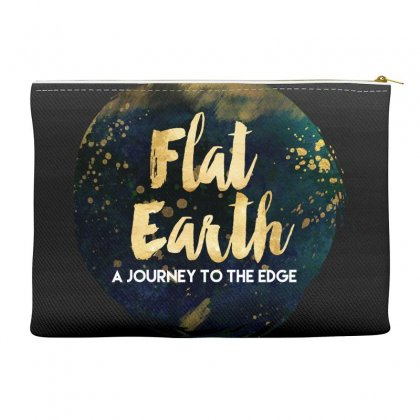Flat Earth A Journey To The Edge Accessory Pouches Designed By Perception