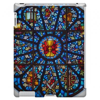 Stained Glass Rose Window Eucharist All Saints Ipad 3 And 4 Case Designed By Salmanaz