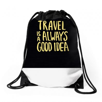Inscription Motivation Travel Dark Background 119811 3840x2400 Drawstring Bags Designed By Ara