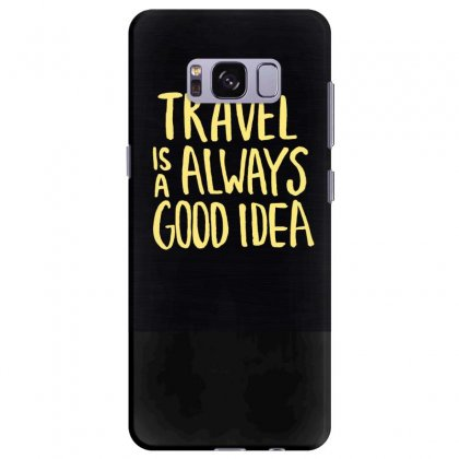 Inscription Motivation Travel Dark Background 119811 3840x2400 Samsung Galaxy S8 Plus Case Designed By Ara