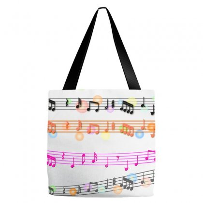 Music Background Music Note Tote Bags Designed By Salmanaz