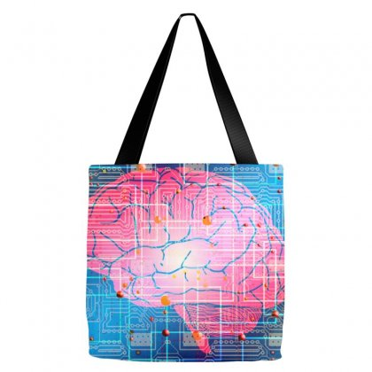Evolution Artificial Intelligence Tote Bags Designed By Salmanaz