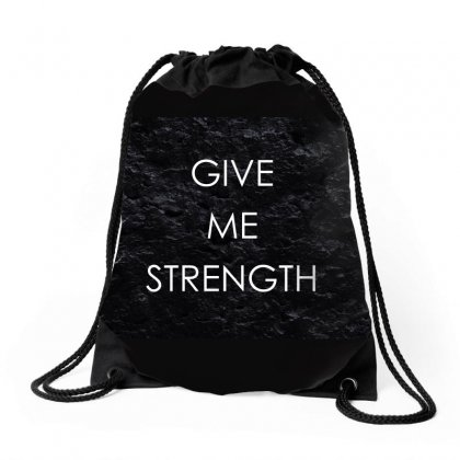 Motivation Strength Patience 136391 3840x2400 Drawstring Bags Designed By Ara