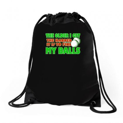 Funny Golf The Older I Get, Ideal Gift, Birthday Present Drawstring Bags Designed By H4syim