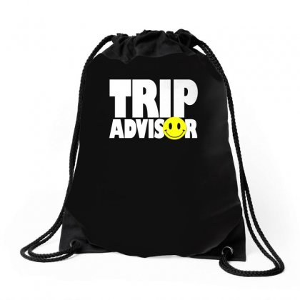 Funny Trip Advisor, Ideal Gift, Birthday Present Drawstring Bags Designed By H4syim