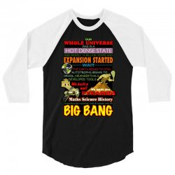 gildan  big bang theory lyrics 2, ideal gift, birthday present 3/4 Sleeve Shirt | Artistshot