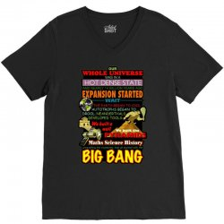 gildan  big bang theory lyrics 2, ideal gift, birthday present V-Neck Tee | Artistshot