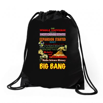 Gildan  Big Bang Theory Lyrics 2, Ideal Gift, Birthday Present Drawstring Bags Designed By H4syim