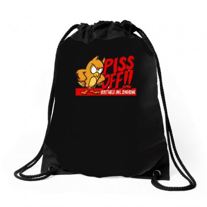 Gildan Funny  Irritable Owl Syndrome, Ideal Gift, Birthday Present Drawstring Bags Designed By H4syim