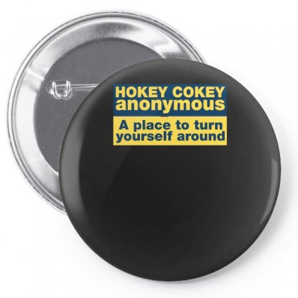 Hokey Cokey Anonymous, Ideal Birthday Gift Or Present Pin-back Button Designed By H4syim