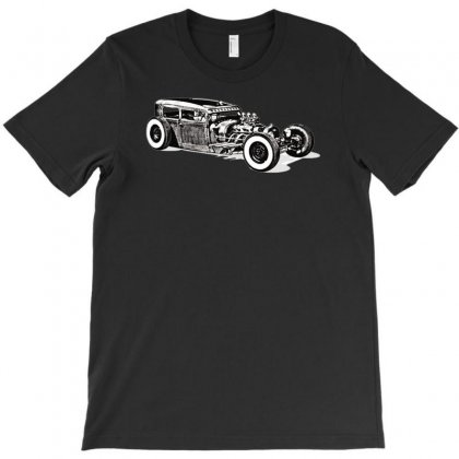 Hot Rod 1, Ideal Birthday Gift Or Present T-shirt Designed By H4syim