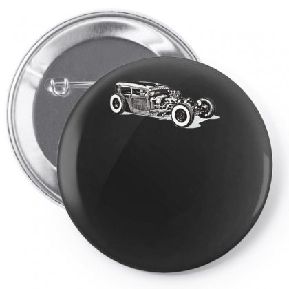 Hot Rod 1, Ideal Birthday Gift Or Present Pin-back Button Designed By H4syim