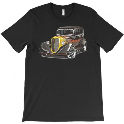 Hot Rod 2, Ideal Birthday Gift Or Present T-shirt Designed By H4syim