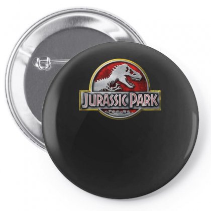 Jurassic Park Ideal Birthday Gift Or Present Pin-back Button Designed By H4syim