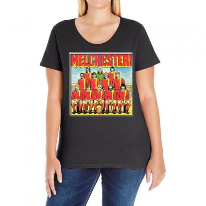 Melchester Rovers, Ideal Gift Or Birthday Present Ladies Curvy T-shirt Designed By H4syim