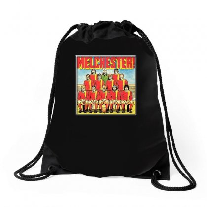 Melchester Rovers, Ideal Gift Or Birthday Present Drawstring Bags Designed By H4syim