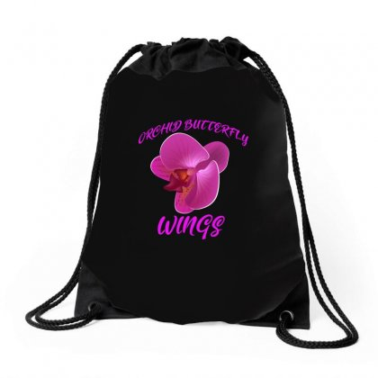Orchids Of Asian Drawstring Bags Designed By Anrora