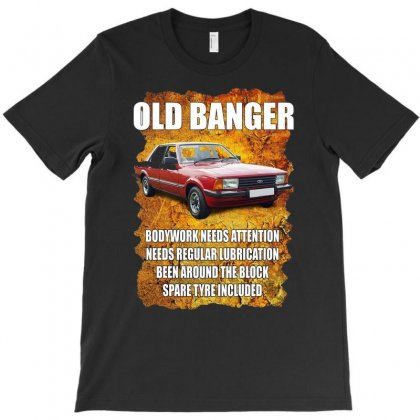 Old Funny Banger Cortina, Ideal Gift Or Christmas Present. T-shirt Designed By H4syim