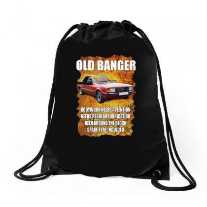 Old Funny Banger Cortina, Ideal Gift Or Christmas Present. Drawstring Bags Designed By H4syim