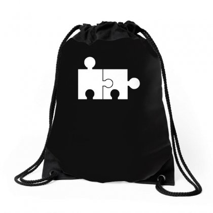 Rude Jigsaw Ideal Birthday Present Or Gift Drawstring Bags Designed By H4syim